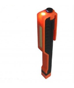 WORK CLIP LIGHT LED ALTA LUMINOSITA' ARANCIO/NERO