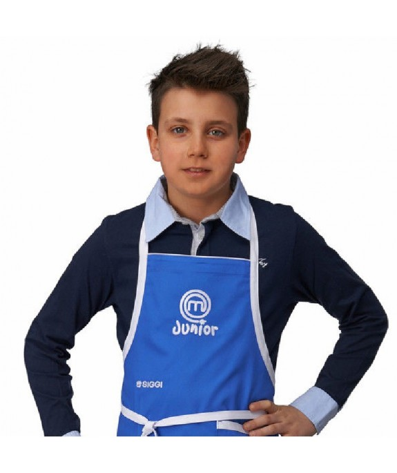 GREMBIULE JUNIOR MASTERCHEF BLUETTE DERBY CM 150