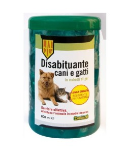 MAI PIU' DISABIT. CANI E GATTI CUBETTI GEL 800ML