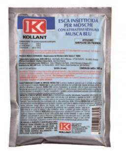 MUSCA BLU (BUSTE DA 100G.) COLORE GIALLO