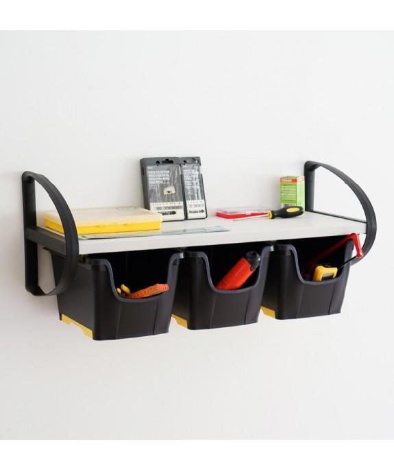 MENSOLA WALLBOX DIY 83 WOW GRIGIO/NERO