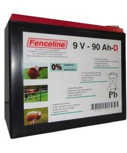 BATTERIA FENCELINE SPEC 10000-9V-90AH