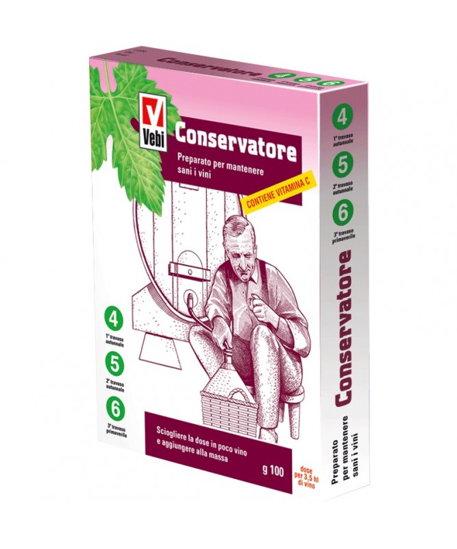 CONSERVATORE (10 BS 10 GR.) ASTUCCIO 100 GR.