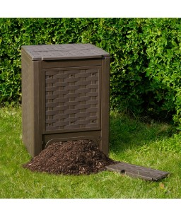 COMPOSTER RATTAN BROWN 300LT.