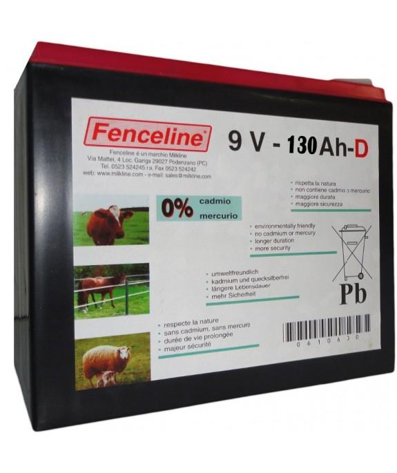 BATTERIA FENCELINE 1300-9V-130AH