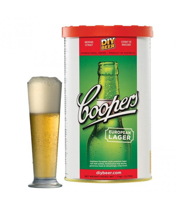 COOPERS EUROPEAN LAGER KG.1,7