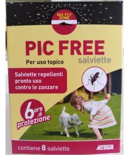 PIC FREE SALVIETTE 8 PZ.