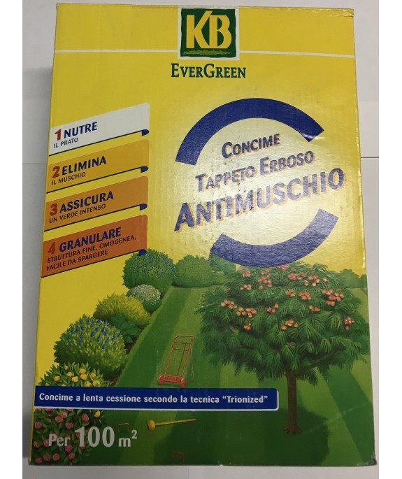 EVERGREEN CONCIME ANTIMUSCHIO KG.2