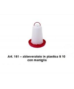 ABBEVERATOIO IN PLASTICA LT.10