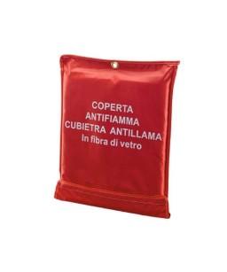 COPERTA IN FIBRA DI VETRO 120X200 ANTIFIAMMA