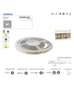 STRIPLED SMD3528 19,2W/MT IP 20 K4000 MM.10 5 MT.